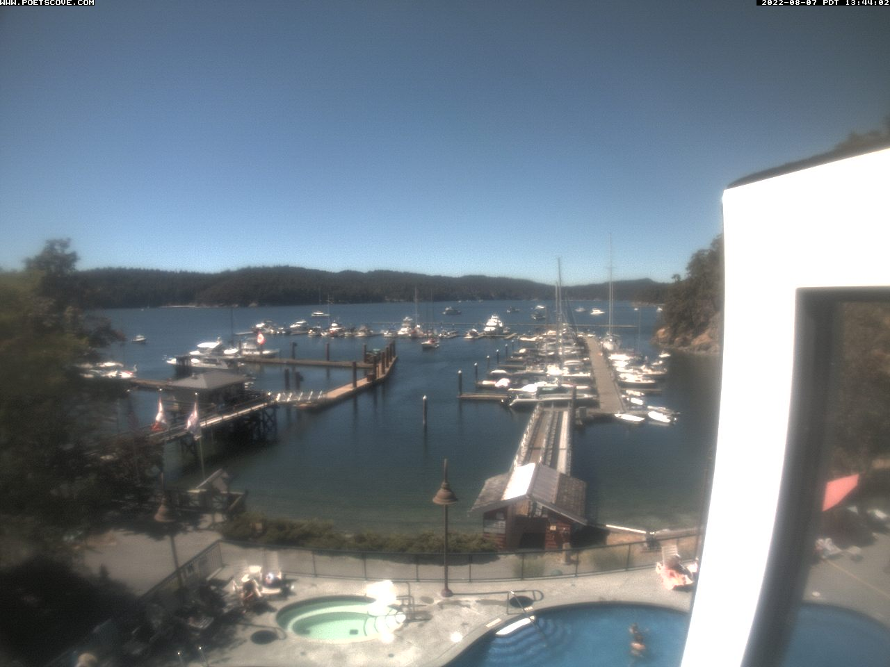 Poets Cove Pender Island Webcam